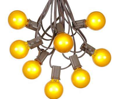 globe string lights brown wire Picture of, G40 Globe String Light, with Yellow Bulbs on Brown Wire Globe String Lights Brown Wire Nice Picture Of, G40 Globe String Light, With Yellow Bulbs On Brown Wire Solutions