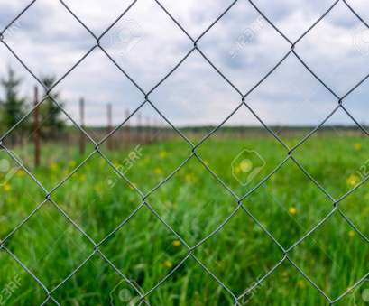 green wire mesh fence Stock Photo, Wire mesh fence, Rabitz net, against, green field, cloudy sky Green Wire Mesh Fence Brilliant Stock Photo, Wire Mesh Fence, Rabitz Net, Against, Green Field, Cloudy Sky Images