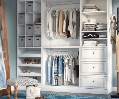 grey wire closet shelving The 7 Best Closet Kits to, in 2018 Grey Wire Closet Shelving Best The 7 Best Closet Kits To, In 2018 Solutions