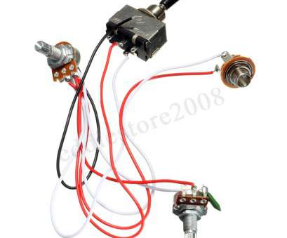 guitar toggle switch wiring 2 of 9 Electric Guitar 3, Toggle Switch Wiring Harness, 1 Volume 1 Tone 500K Guitar Toggle Switch Wiring Nice 2 Of 9 Electric Guitar 3, Toggle Switch Wiring Harness, 1 Volume 1 Tone 500K Pictures