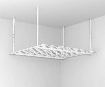 hanging wire garage shelves Amazon.com: HyLoft 00540 45-Inch-by-45-Inch Overhead Storage System, White: Home Improvement Hanging Wire Garage Shelves Creative Amazon.Com: HyLoft 00540 45-Inch-By-45-Inch Overhead Storage System, White: Home Improvement Photos