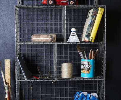 hanging wire mesh shelves Retro inspired wire mesh locker room shelf with hanging ring Hanging Wire Mesh Shelves Fantastic Retro Inspired Wire Mesh Locker Room Shelf With Hanging Ring Solutions