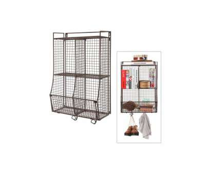 hanging wire mesh shelves Wall Mounted / Collapsible Brown Metal Wire Mesh Storage Basket Shelf Organizer Rack w/ 2 Hanging Hooks Hanging Wire Mesh Shelves Simple Wall Mounted / Collapsible Brown Metal Wire Mesh Storage Basket Shelf Organizer Rack W/ 2 Hanging Hooks Photos