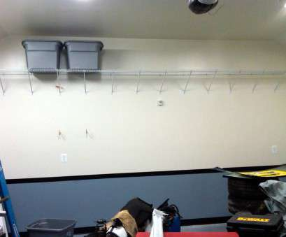 hanging wire shelves in garage Garage shelves from ceiling -, Garage Journal Board 20 Cleaver Hanging Wire Shelves In Garage Pictures