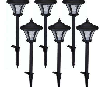 hard wired pathway lights Low-Voltage Black Outdoor Integrated, Landscape Coach Style Path Light with Water Glass Lens (6-Pack) Hard Wired Pathway Lights Cleaver Low-Voltage Black Outdoor Integrated, Landscape Coach Style Path Light With Water Glass Lens (6-Pack) Images