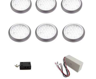 hard wiring under cabinet puck lights macLEDS, Under Cabinet HardWired, Profile Puck Light, (6-Pack) Hard Wiring Under Cabinet Puck Lights Fantastic MacLEDS, Under Cabinet HardWired, Profile Puck Light, (6-Pack) Collections