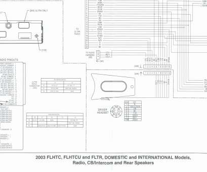 radio wiring schematic for harley davidson flhtcu on