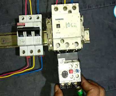 Havells, Starter Wiring Diagram Popular DOL Starter Power Wiring, Direct Online Starter Power Circuit In Hindi By Electric Guru Pictures