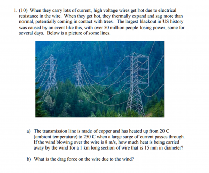 heat a copper wire and its electric resistance Question: When they carry lots of current, high voltage wires, hot, to electrical resistance in, w Heat A Copper Wire, Its Electric Resistance Perfect Question: When They Carry Lots Of Current, High Voltage Wires, Hot, To Electrical Resistance In, W Solutions