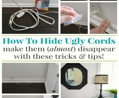 hide electrical wires How To Hide Unsightly Lamp Cords, foxhollowcottage.com, #DamageFreeDIY, #organize @cottagefox Hide Electrical Wires Brilliant How To Hide Unsightly Lamp Cords, Foxhollowcottage.Com, #DamageFreeDIY, #Organize @Cottagefox Photos