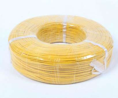 High Temperature Electrical Wire Popular High Temperature Silicone Rubber Insulated Wire Small Overall Diameter Galleries