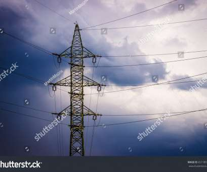 high voltage electrical wire colors High voltage tower (electricity post), power lines (wires), colorful clouds High Voltage Electrical Wire Colors New High Voltage Tower (Electricity Post), Power Lines (Wires), Colorful Clouds Collections