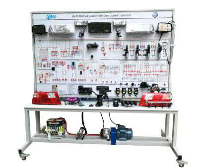 Home Electrical Training System Kit Simple Automotive Training Board Automotive Electrical System Trainer Whole, Electrical Appliances Trainer Training Kits Solutions