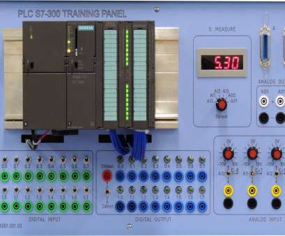 Home Electrical Training System Kit Creative PLC S7-300 TRAINING PANEL (CPU 314C-2PN/DP), ASTI Automation Galleries