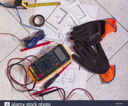 home electrical wiring equipment Electrician equipment used, the installation of a domestic electrical system. Dirty work area Home Electrical Wiring Equipment Fantastic Electrician Equipment Used, The Installation Of A Domestic Electrical System. Dirty Work Area Collections