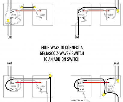 home electrical wiring techniques Diagram showing, four combinations of line entering, load exiting either, box where the Home Electrical Wiring Techniques Cleaver Diagram Showing, Four Combinations Of Line Entering, Load Exiting Either, Box Where The Photos