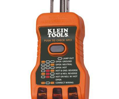 home electrical wiring tester GFCI Receptacle Tester, Made, RT600, Klein Tools, For Home Electrical Wiring Tester Nice GFCI Receptacle Tester, Made, RT600, Klein Tools, For Solutions