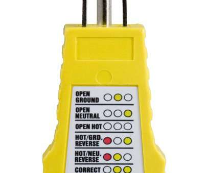 home electrical wiring tester Power Gear 3 Wire Receptacle Tester, Outlet Tester, 6 Visual Indications, Light Indicator, UL Listed, Yellow, 50542, Voltage Testers, Amazon.com Home Electrical Wiring Tester Best Power Gear 3 Wire Receptacle Tester, Outlet Tester, 6 Visual Indications, Light Indicator, UL Listed, Yellow, 50542, Voltage Testers, Amazon.Com Photos