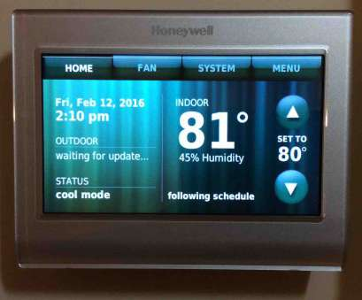 honeywell rth9580wf wiring diagram Picture of, Honeywell RTH9580WF Smart Thermostat, front view after initial setup Honeywell Rth9580Wf Wiring Diagram Nice Picture Of, Honeywell RTH9580WF Smart Thermostat, Front View After Initial Setup Photos