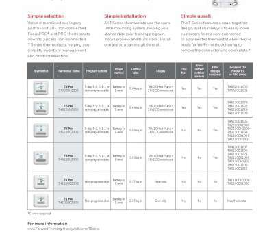 honeywell t6 thermostat wiring diagram ... Precise comfort control; Adaptive Intelligent Recovery Honeywell T6 Thermostat Wiring Diagram Best ... Precise Comfort Control; Adaptive Intelligent Recovery Photos