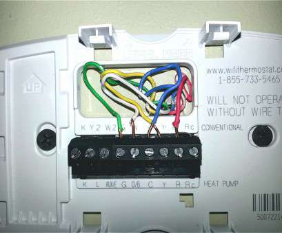 Honeywell Thermostat Wiring Diagram 4 Wire Perfect 4 Wire ... on
