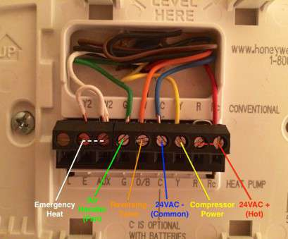 10 Brilliant Honeywell Thermostat Wiring Diagram 6 Wire Images