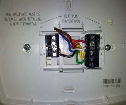 honeywell thermostat wiring diagram for heat pump Honeywell Heat Pump Thermostat Wiring Diagram Katherinemarie Me Incredible, With 20 Top Honeywell Thermostat Wiring Diagram, Heat Pump Photos