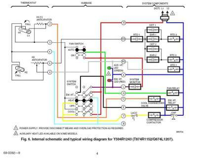 honeywell thermostat wiring diagram for heat pump Anticipator, Honeywell Thermostat Wiring Diagram, Heat Pump with System Honeywell Thermostat Wiring Diagram, Heat Pump Creative Anticipator, Honeywell Thermostat Wiring Diagram, Heat Pump With System Solutions