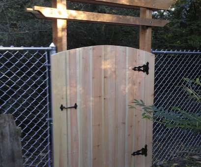 hot wire mesh fence Saturday project Simple cedar pergola, gate to dress up a plain Hot Wire Mesh Fence Professional Saturday Project Simple Cedar Pergola, Gate To Dress Up A Plain Images