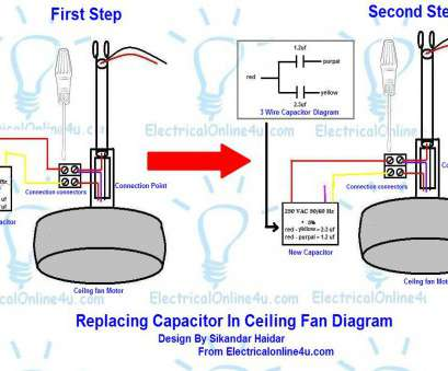 How Do I Wire A Ceiling, With Light Perfect ... Installing Wire Ceiling, Capacitor Gradschoolfairs With Regard Replacing Diagrams Electrical Ideas Above Stove Blue Light Images