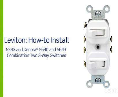 how do i wire a three way switch Leviton Presents:, to Install a Combination Device with a, Three-Way Switches How Do I Wire A Three, Switch Cleaver Leviton Presents:, To Install A Combination Device With A, Three-Way Switches Images