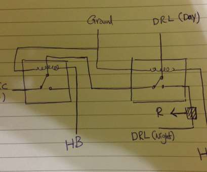 how light switch wiring works light -, relays, DRL on a,, Electrical Engineering Stack How Light Switch Wiring Works Nice Light -, Relays, DRL On A,, Electrical Engineering Stack Galleries