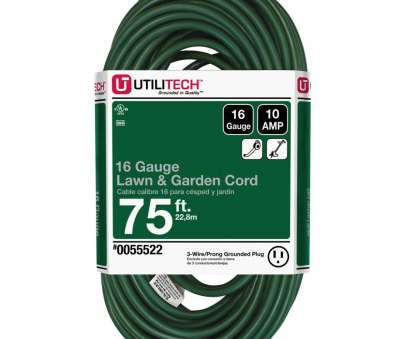 how many amps is 10 gauge wire good for Shop Utilitech 75-ft 10-Amp 120-Volt 1-Outlet 16-Gauge Green How Many Amps Is 10 Gauge Wire Good For Popular Shop Utilitech 75-Ft 10-Amp 120-Volt 1-Outlet 16-Gauge Green Pictures