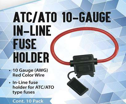how much amps will 10 gauge wire handle Amazon.com: 10 Pack, EPAuto, /, 10 Gauge 30, In-Line Fuse Holder: Automotive How Much Amps Will 10 Gauge Wire Handle Top Amazon.Com: 10 Pack, EPAuto, /, 10 Gauge 30, In-Line Fuse Holder: Automotive Galleries