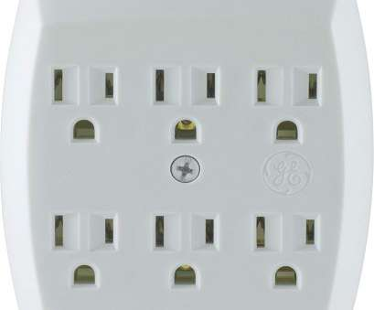 how much does adding an electrical outlet cost GE 6-Outlet Tap, Grounded, White, 54947, Electrical Multi Outlets, Amazon.com How Much Does Adding An Electrical Outlet Cost Perfect GE 6-Outlet Tap, Grounded, White, 54947, Electrical Multi Outlets, Amazon.Com Ideas