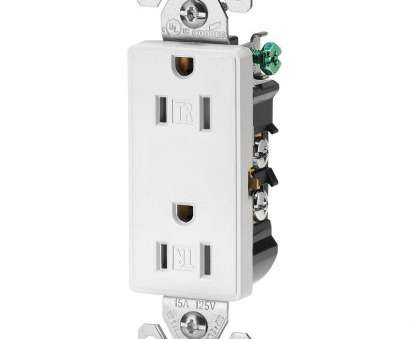 how much to wire an electrical outlet Eaton Aspire 15, Tamper Resistant Duplex Receptacle, White Satin How Much To Wire An Electrical Outlet Cleaver Eaton Aspire 15, Tamper Resistant Duplex Receptacle, White Satin Photos