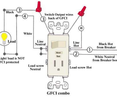 how much to wire an electrical outlet How to install, troubleshoot GFCI How Much To Wire An Electrical Outlet Popular How To Install, Troubleshoot GFCI Galleries