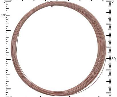 how strong is 26 gauge wire 14K Rose Gold Filled Dead Soft Wire, 26 Gauge Half oz 42, Nina Designs How Strong Is 26 Gauge Wire Best 14K Rose Gold Filled Dead Soft Wire, 26 Gauge Half Oz 42, Nina Designs Images