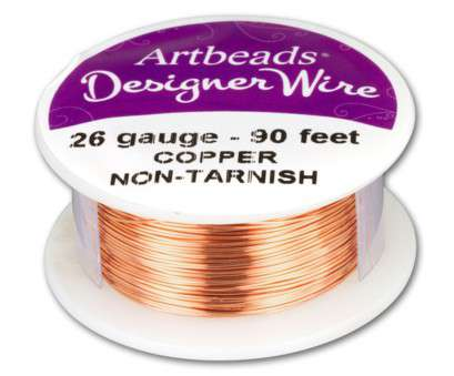 how strong is 26 gauge wire Artbeads Designer Wire, Copper Non-Tarnish 26 Gauge, ft. spool) How Strong Is 26 Gauge Wire New Artbeads Designer Wire, Copper Non-Tarnish 26 Gauge, Ft. Spool) Pictures