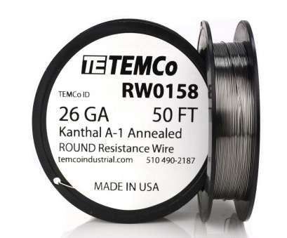 how strong is 26 gauge wire Temco Kanthal A1 Wire 26 Gauge 50 FT Resistance, A-1 GA How Strong Is 26 Gauge Wire Perfect Temco Kanthal A1 Wire 26 Gauge 50 FT Resistance, A-1 GA Images