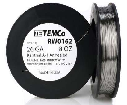 how strong is 26 gauge wire Temco Kanthal A1 Wire 26 Gauge 8 Oz (813, Resistance, A-1 GA How Strong Is 26 Gauge Wire Cleaver Temco Kanthal A1 Wire 26 Gauge 8 Oz (813, Resistance, A-1 GA Galleries