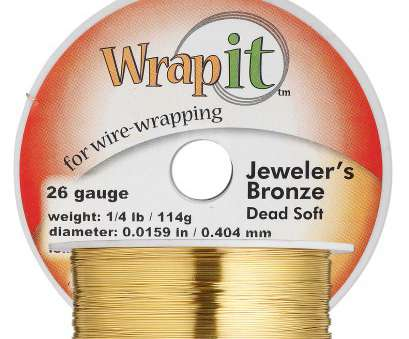 how strong is 26 gauge wire Wire, Wrapit®, Jeweler's Bronze, dead-soft, round, 26 gauge. Sold, 1/4 pound spool, approximately, feet., Fire Mountain Gems, Beads How Strong Is 26 Gauge Wire Brilliant Wire, Wrapit®, Jeweler'S Bronze, Dead-Soft, Round, 26 Gauge. Sold, 1/4 Pound Spool, Approximately, Feet., Fire Mountain Gems, Beads Images