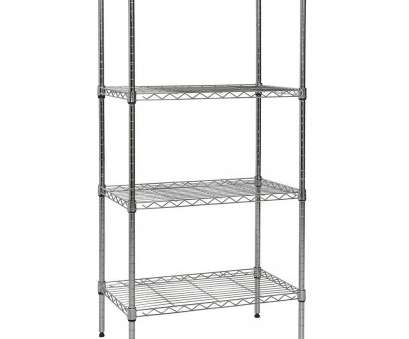 how to disassemble chrome wire shelving Amazon.com: Apollo Hardware CHROME 4-Shelf Wire Shelving with Wheels 14