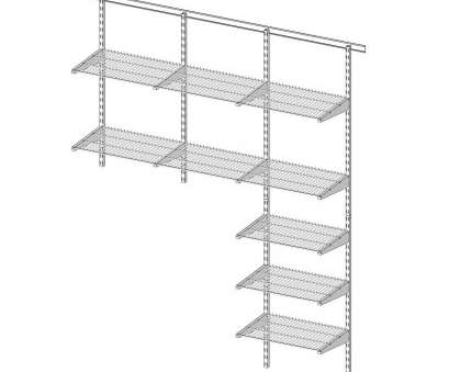 how to hang white wire shelving Wall Mount Wire Shelving, Wall Mounted Shelves, Pinterest, Wall How To Hang White Wire Shelving New Wall Mount Wire Shelving, Wall Mounted Shelves, Pinterest, Wall Galleries