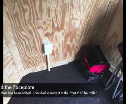 how to install 110v electrical outlet Add Electrical Outlet to Cargo Trailer Cheap!! How To Install 110V Electrical Outlet Cleaver Add Electrical Outlet To Cargo Trailer Cheap!! Collections