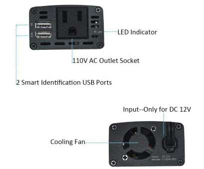 how to install 110v electrical outlet Amazon.com: UCERAMI Power Inverter 150W DC, to 110V AC Outlet, Adapter Converter with Smart, Charger:, Electronics How To Install 110V Electrical Outlet Popular Amazon.Com: UCERAMI Power Inverter 150W DC, To 110V AC Outlet, Adapter Converter With Smart, Charger:, Electronics Photos