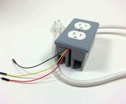 how to install 110v electrical outlet Build an Arduino Controlled Power Outlet -, Completed Electrical Outlet, Data, 5V and How To Install 110V Electrical Outlet Most Build An Arduino Controlled Power Outlet -, Completed Electrical Outlet, Data, 5V And Photos
