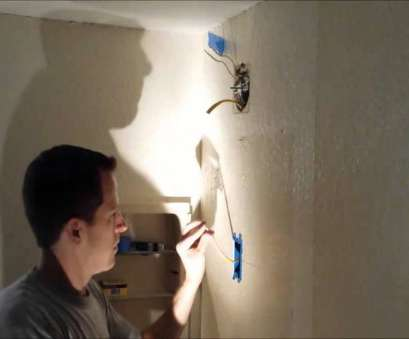 How To Install A, Ceiling Light, Switch Nice How To, A Light Fixture To Existing Circuit Collections