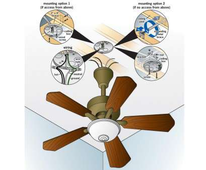 How To Install A, Ceiling Light, Switch New How To Replace A Light Fixture With A Ceiling Fan, How-Tos, DIY Galleries