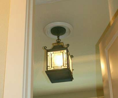 How To Install A, Ceiling Light, Switch Perfect Replace Recessed Light With A Pendant Fixture, HGTV Galleries
